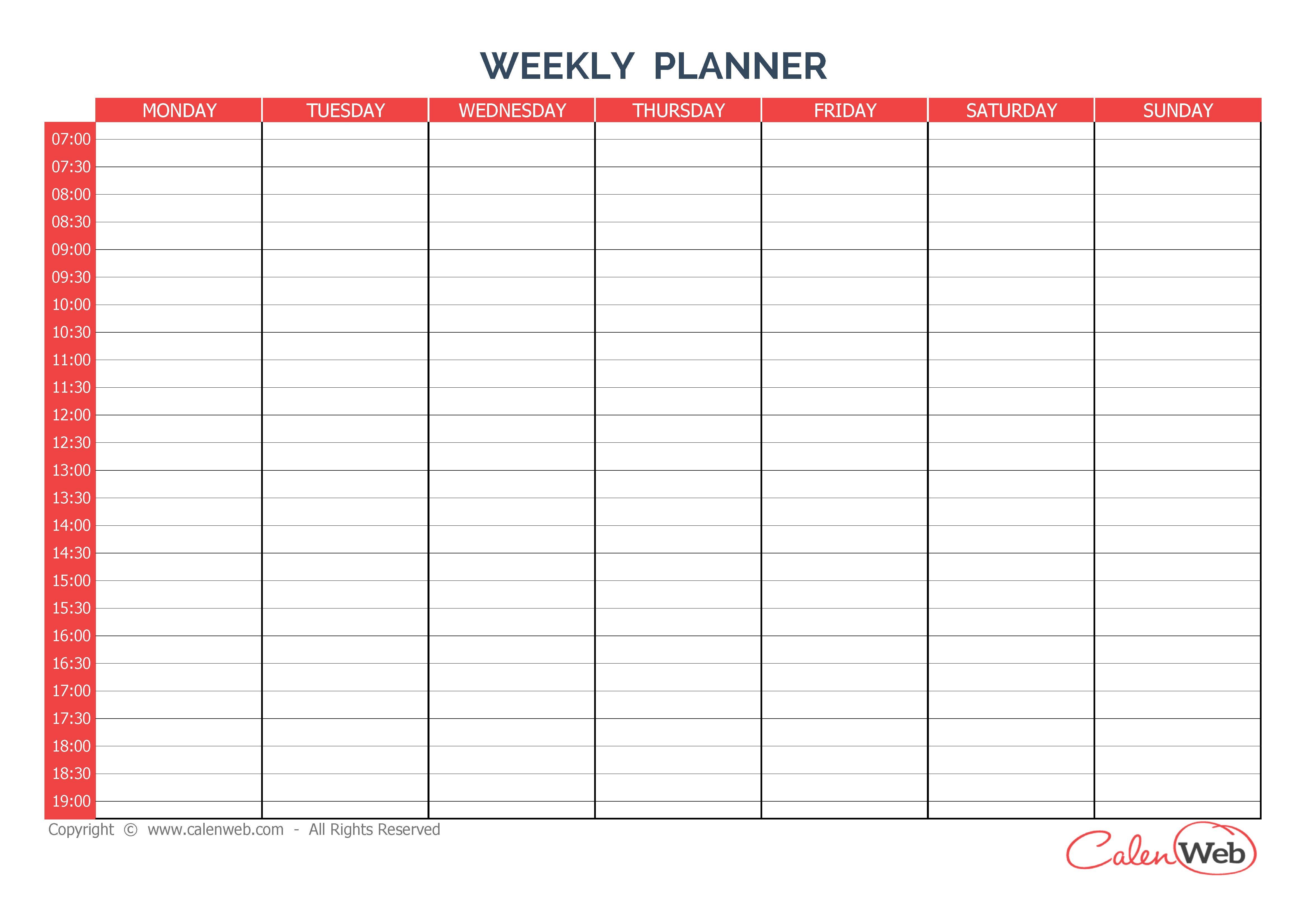 Calendar Maker Template