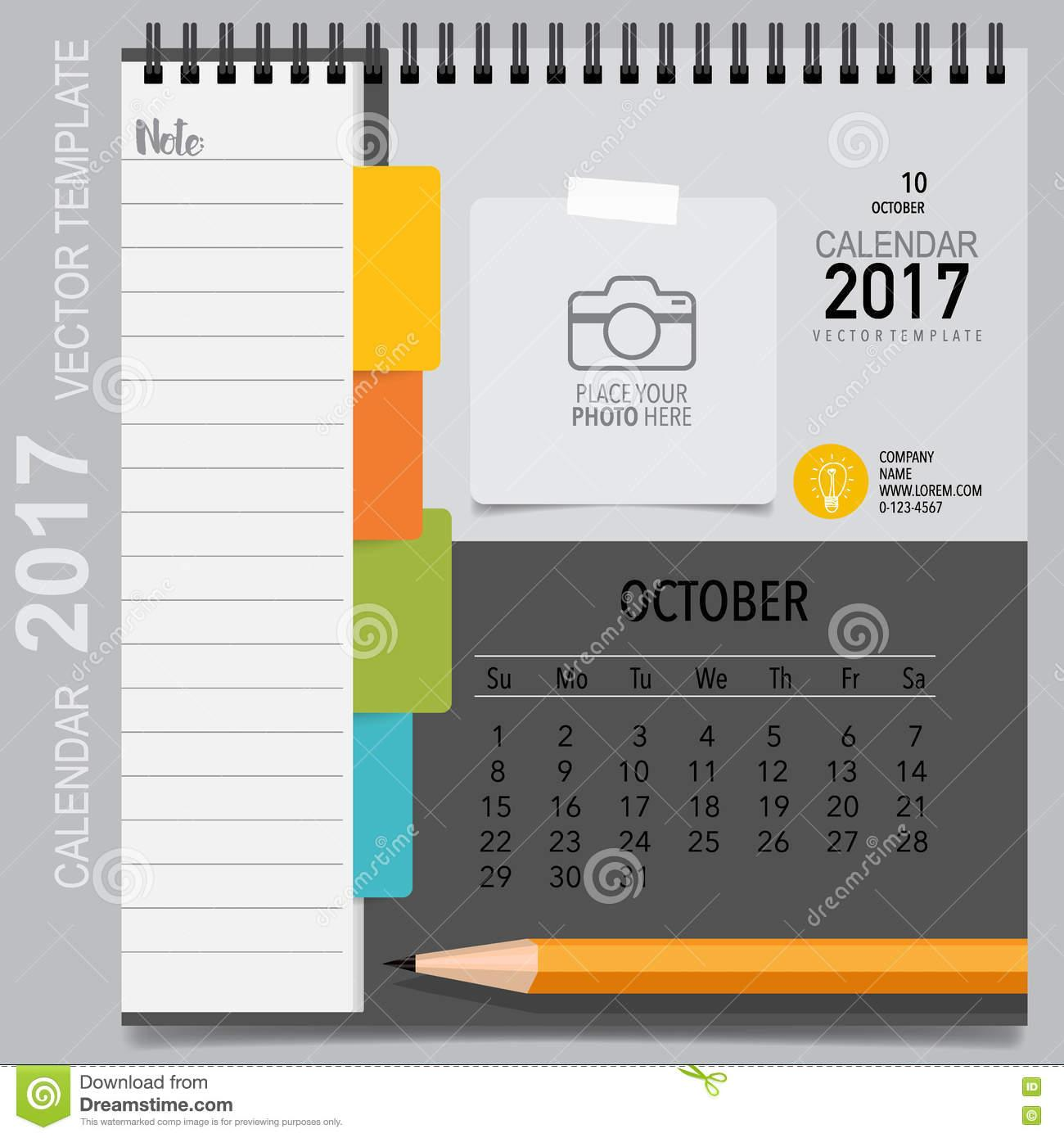 Calendar Planner Template Monthly