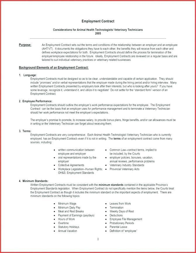 California Employment Contract Template Free