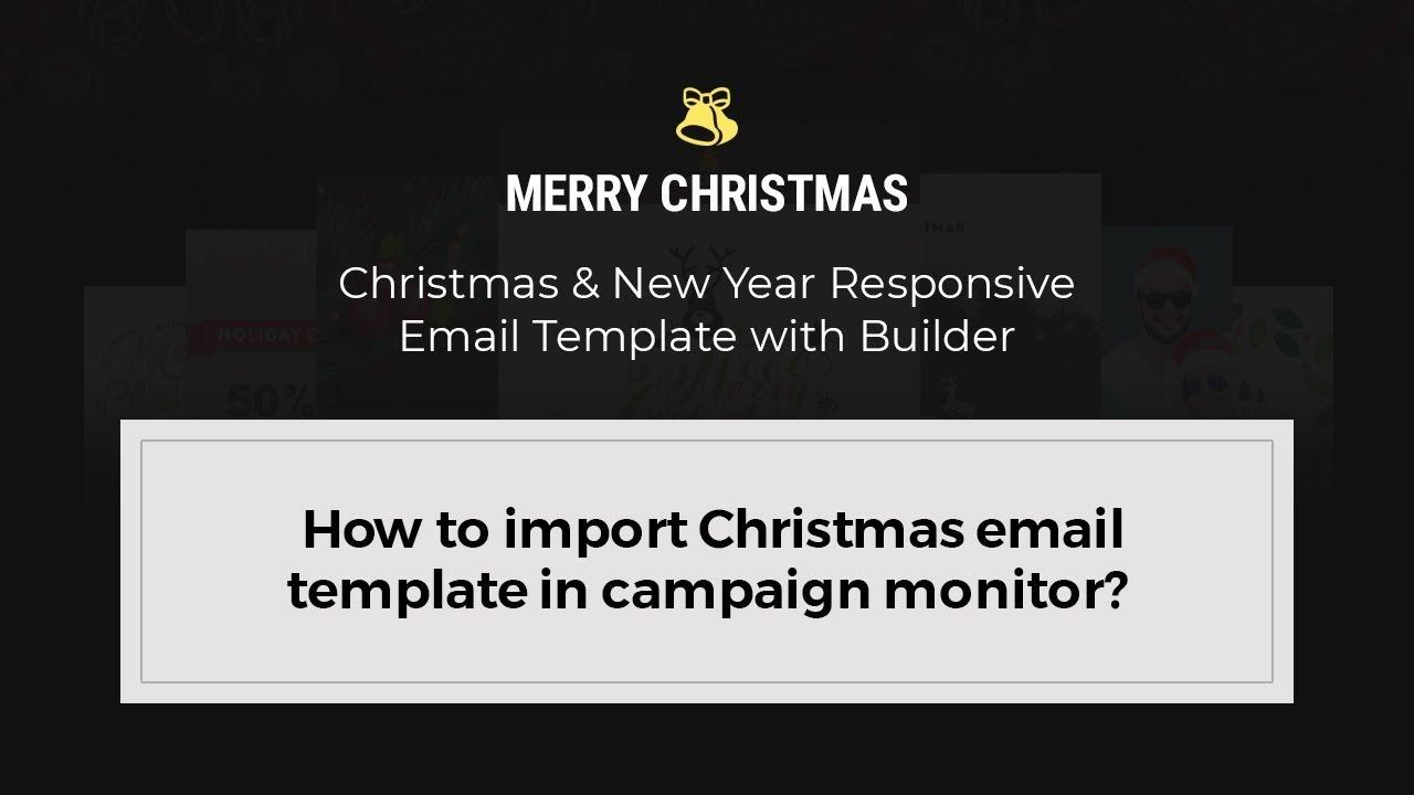 Campaign Monitor Christmas Email Template