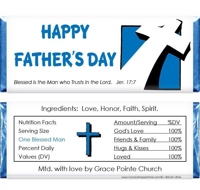 Candy Bar Wrapper Template Father's Day