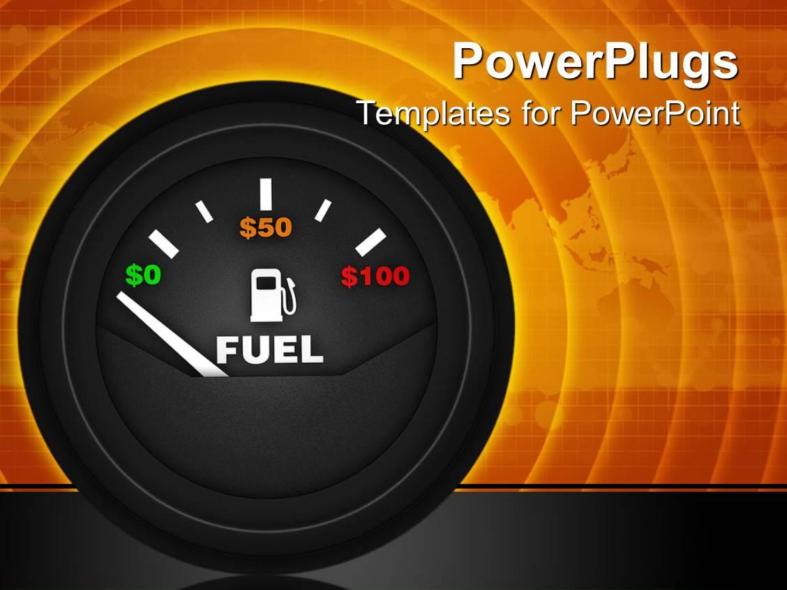 Car Dashboard Powerpoint Template