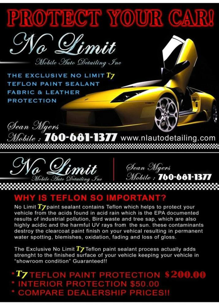 Car Detailing Flyer Template Free