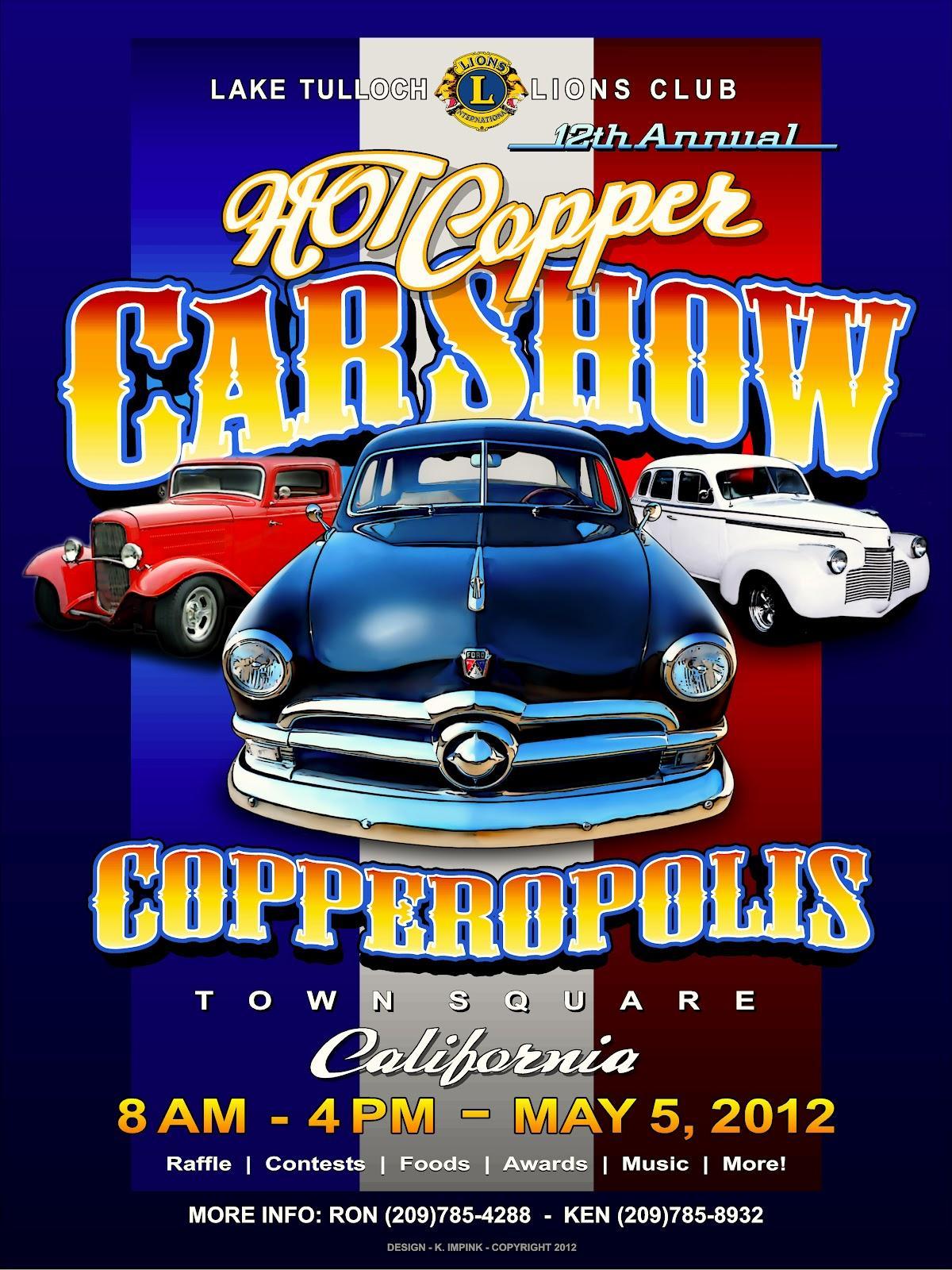 Car Show Flyers Templates