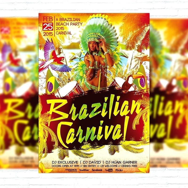 Carnival Flyers Templates Free Download