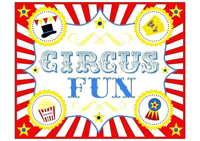 Carnival Theme Party Invitation Template