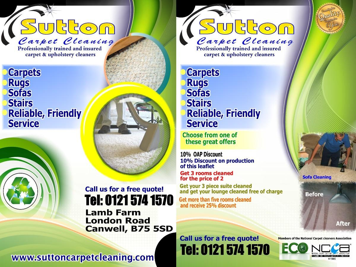 Carpet Cleaning Flyer Templates