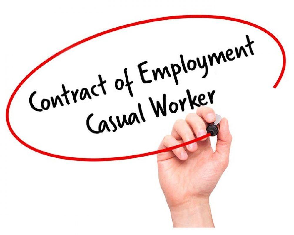 Casual Staff Employment Contract Template