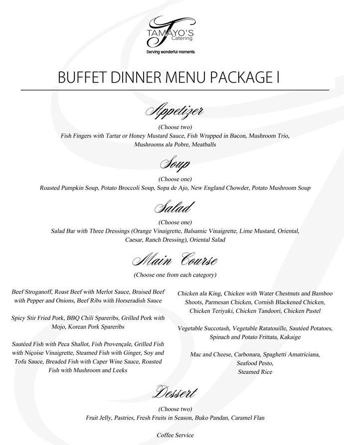 Catering Contract Sample Philippines