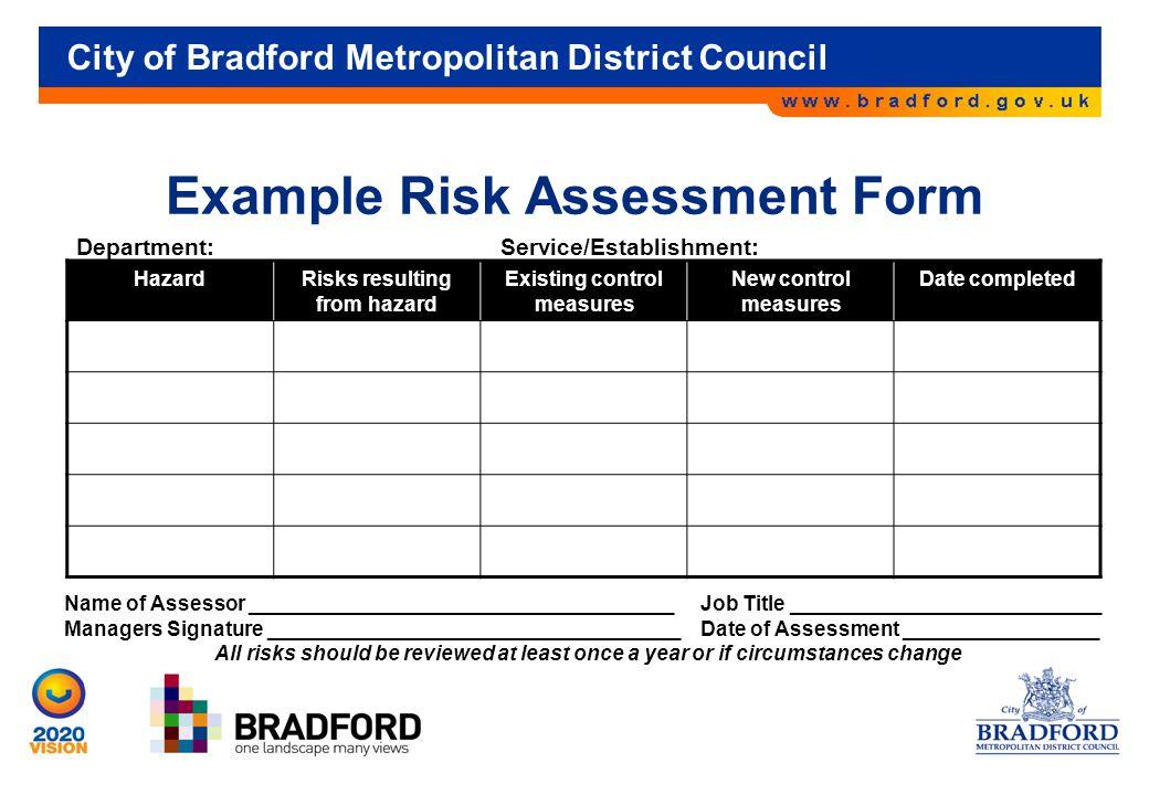 Catering Risk Assessments Templates
