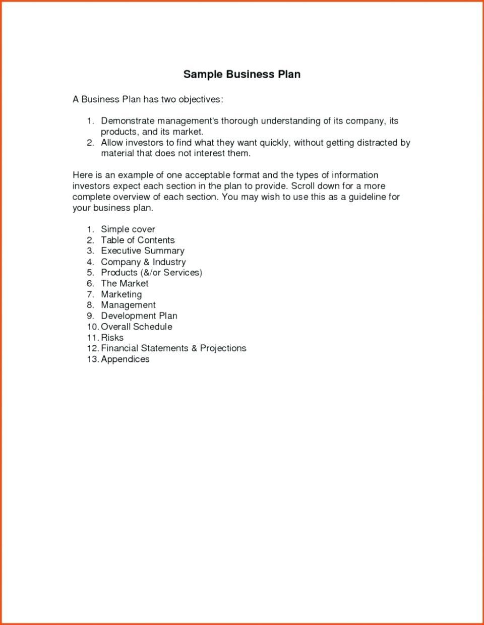 Catering Trailer Business Plan Template