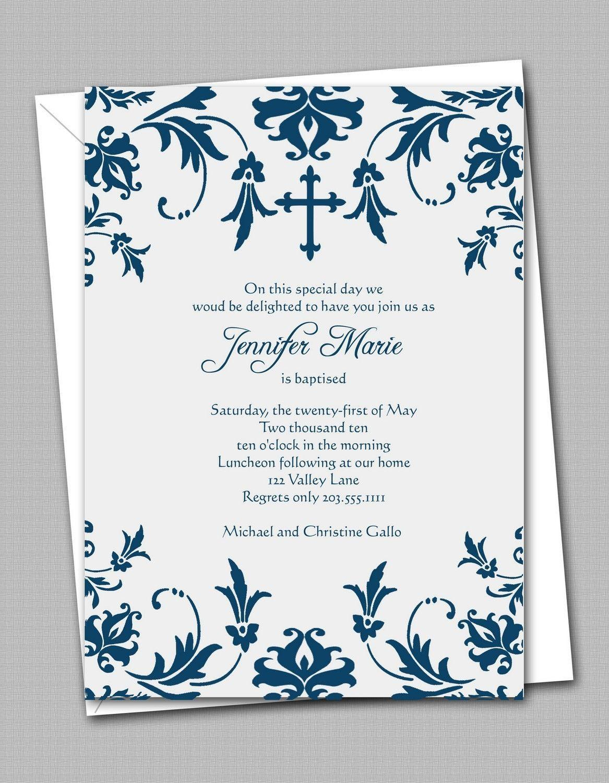 Catholic Confirmation Invitation Templates