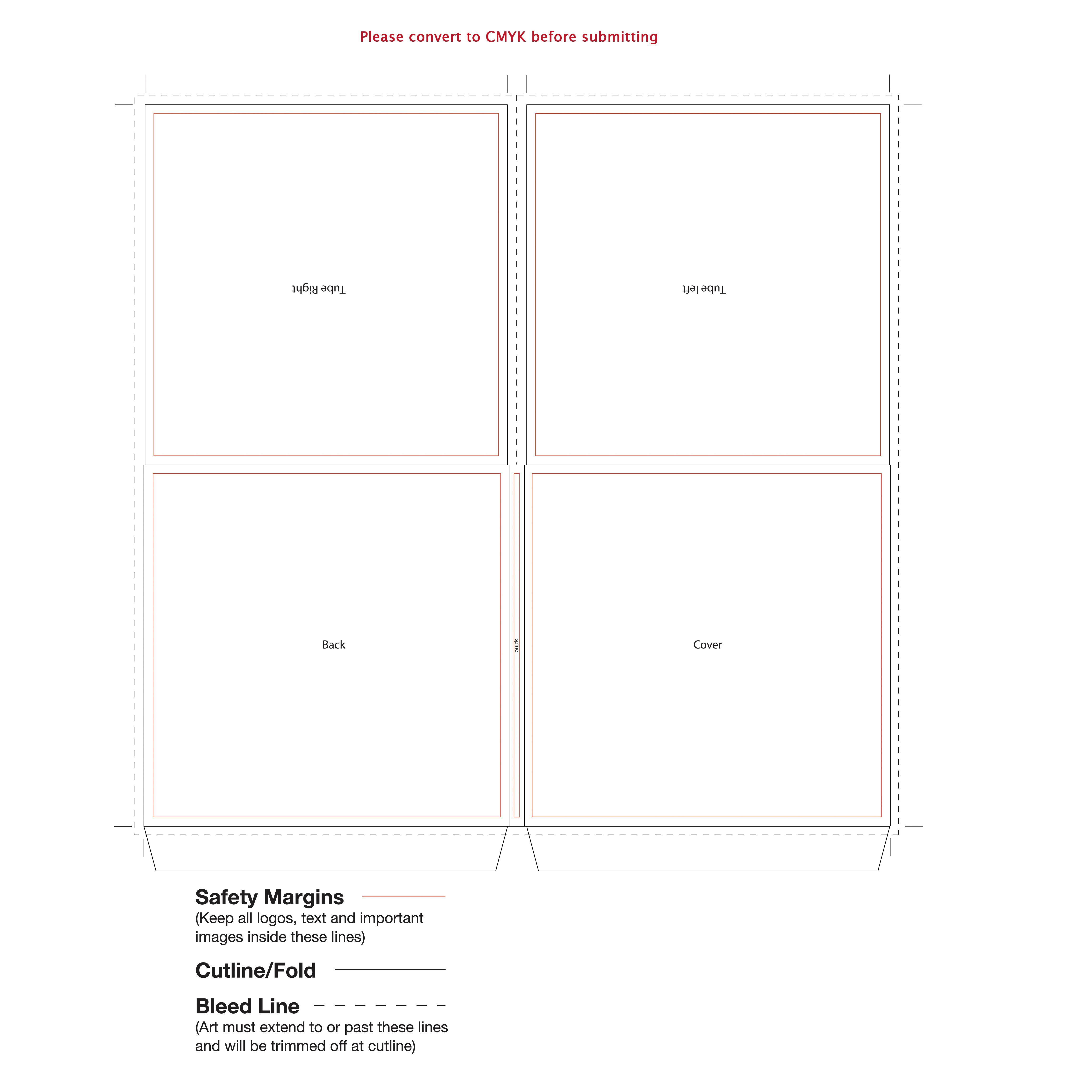 Cd Cardboard Sleeve Template