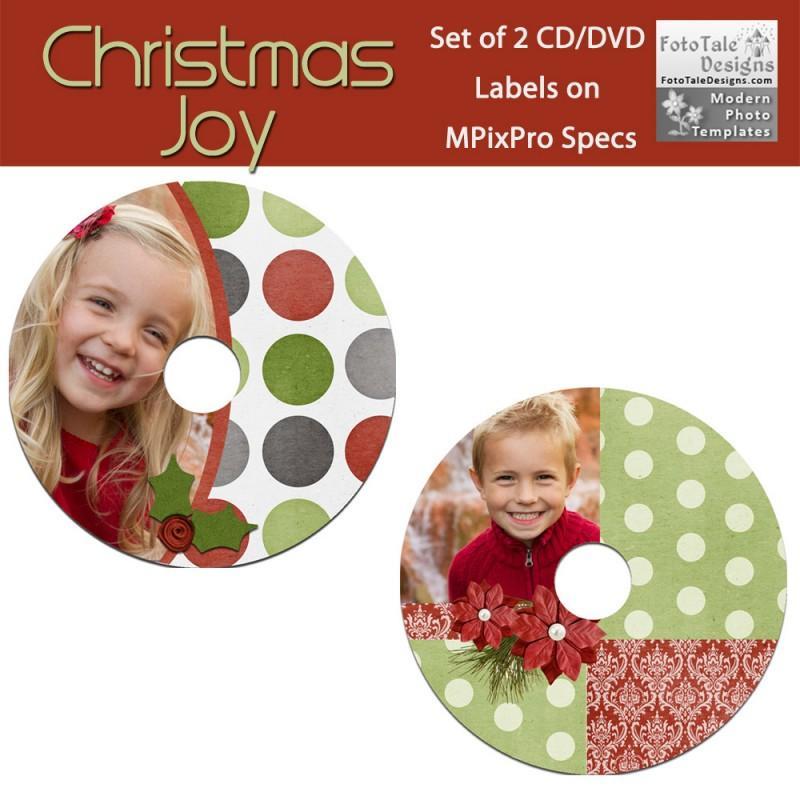 Cd Label Christmas Templates