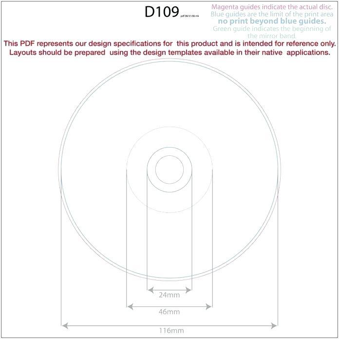 Cd Label Template Word Doc