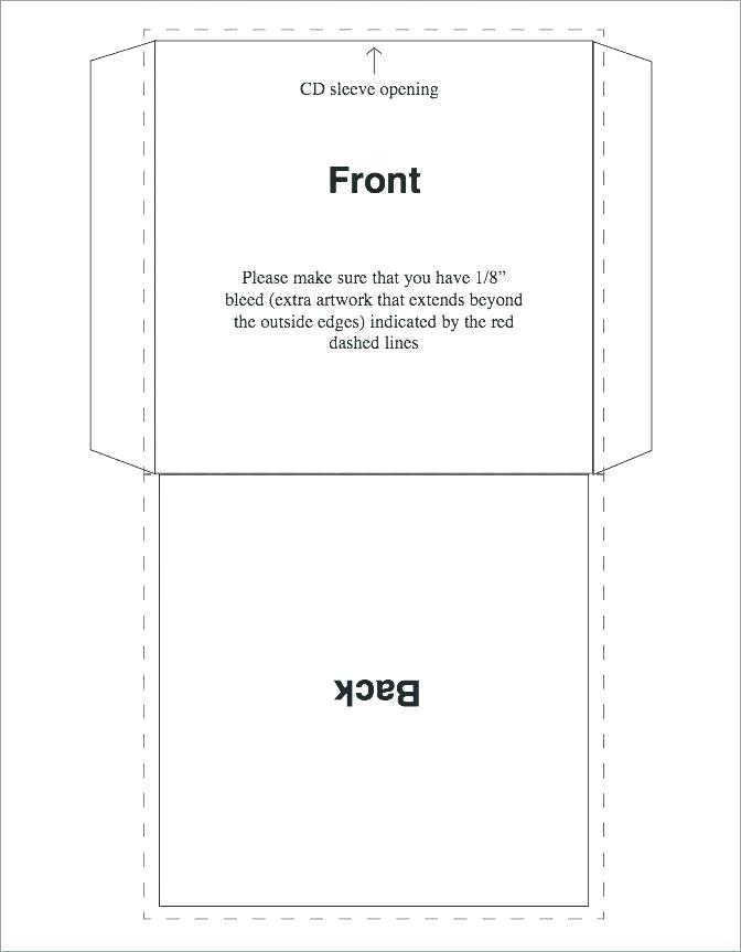 Cd Label Template Word Document