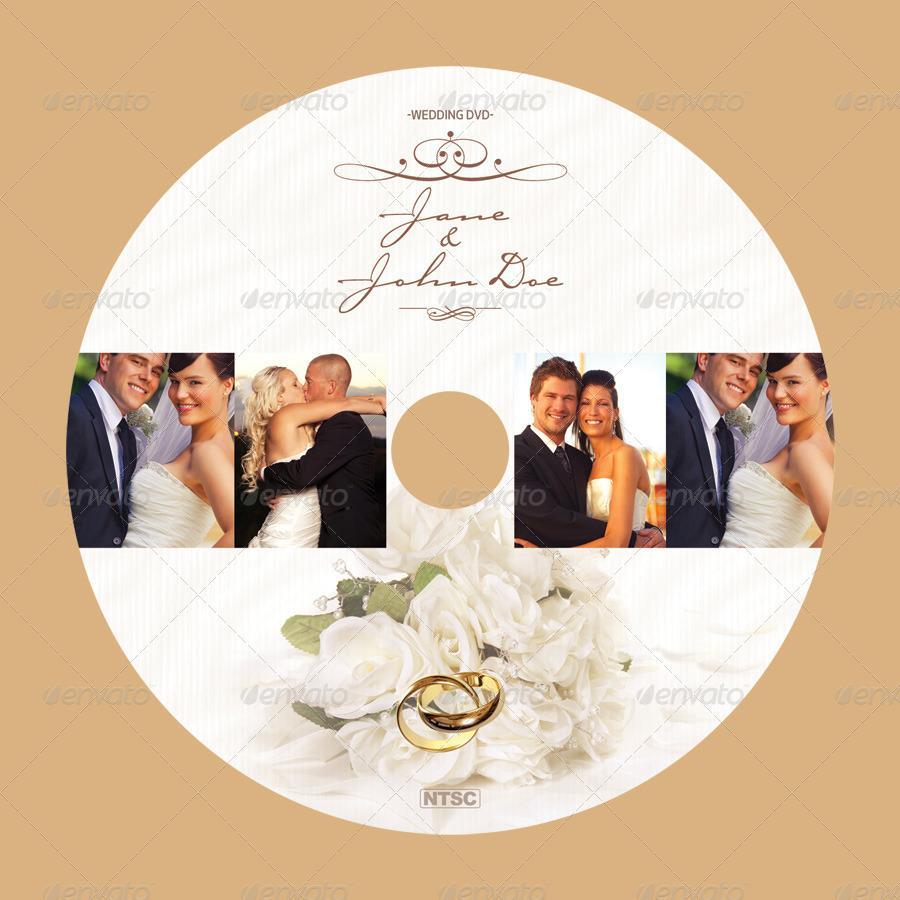 Cd Label Wedding Templates Free