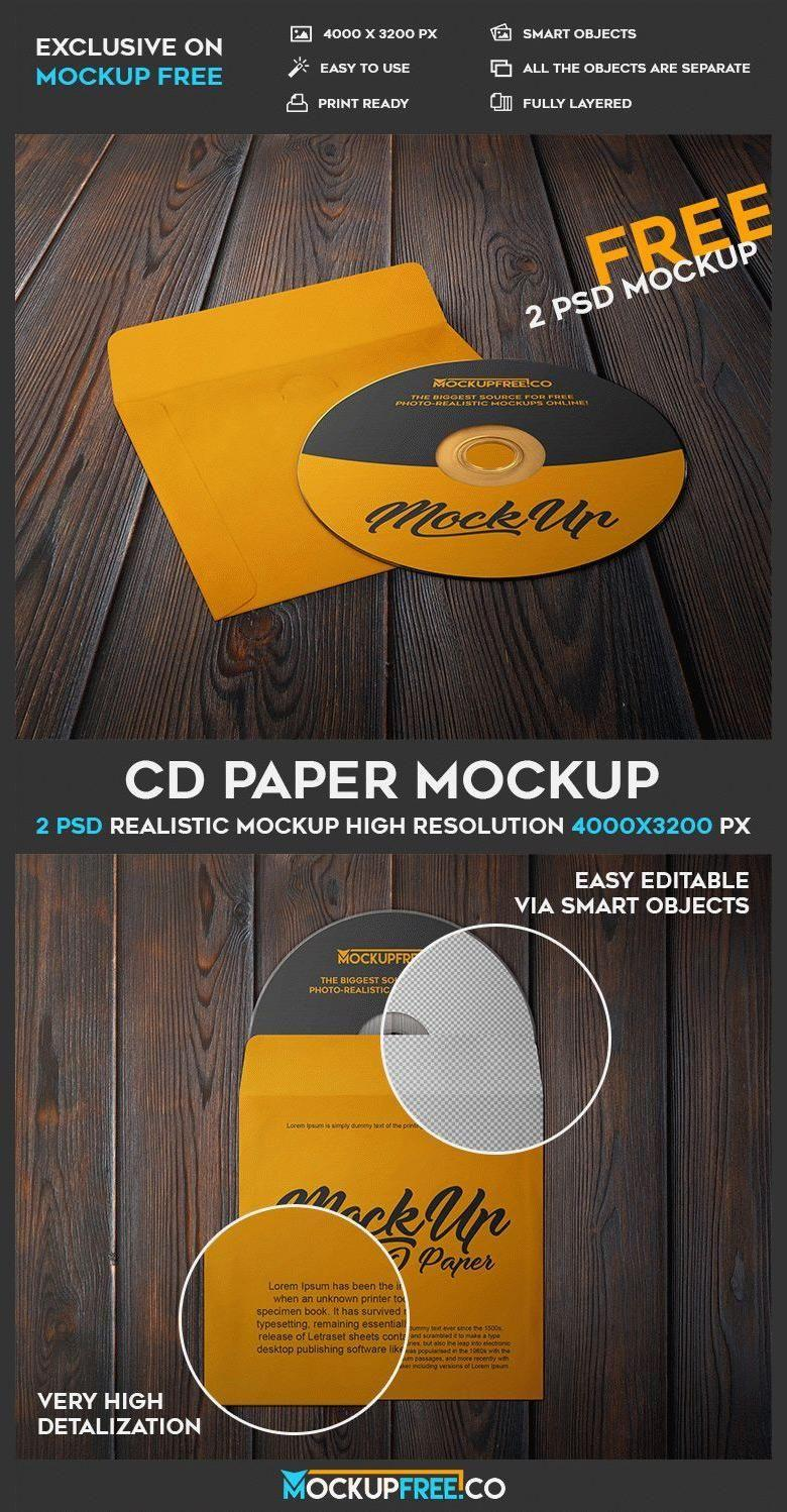 Cd Packaging Templates Free