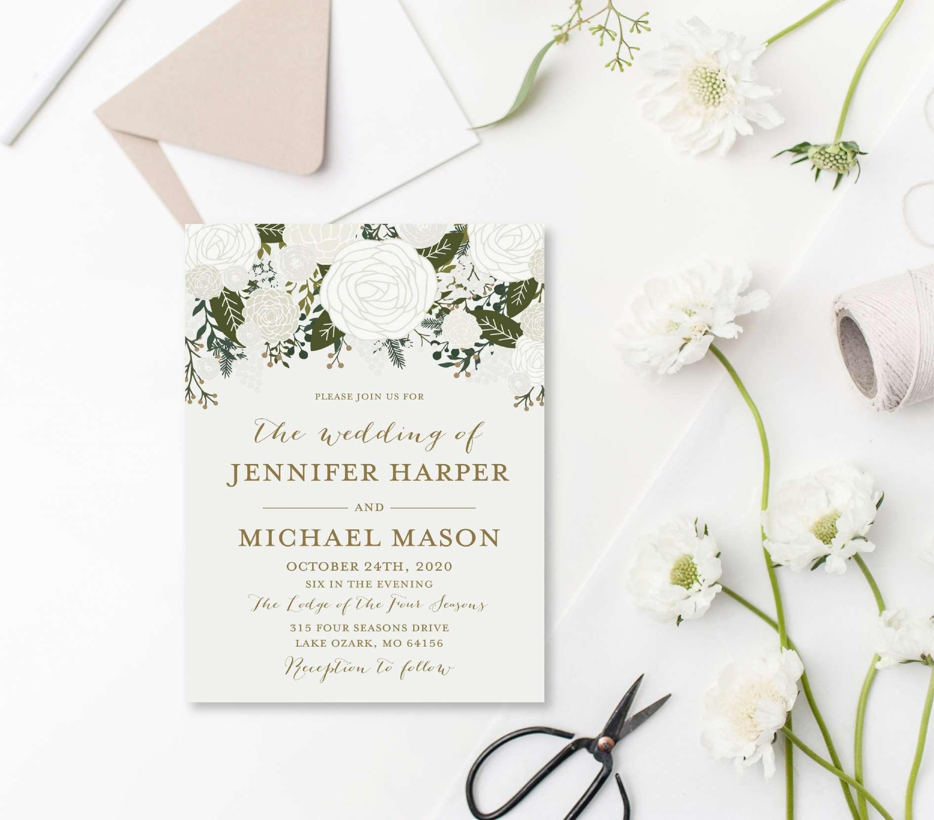Ceremony Booklet Template