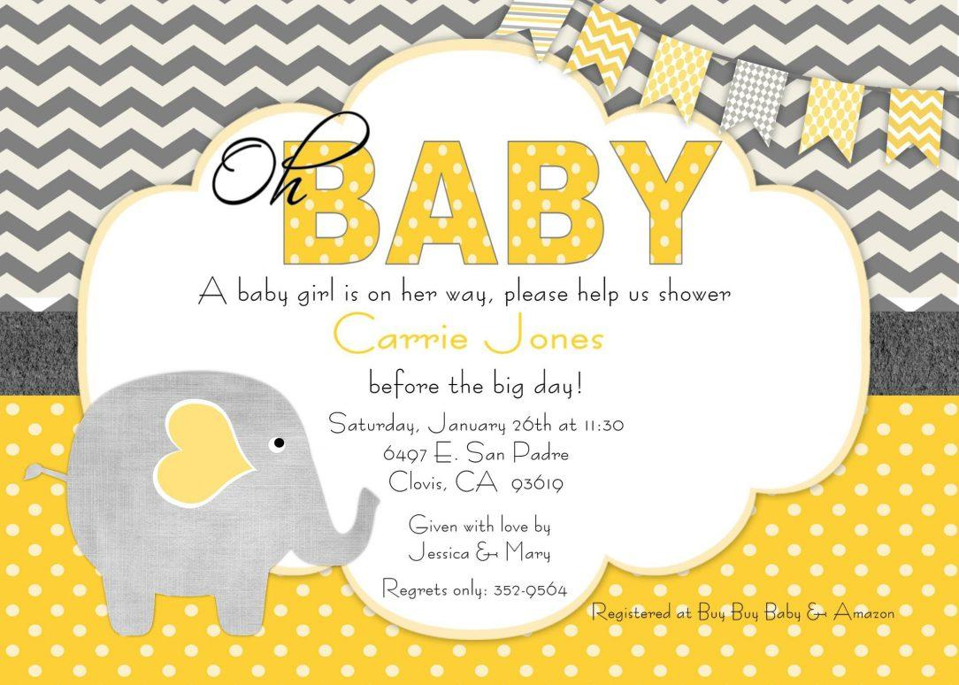 Chalkboard Baby Shower Invitation Templates