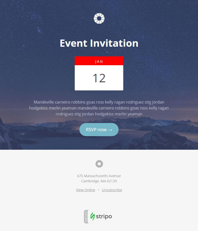 Charity Event Invitation Templates Free