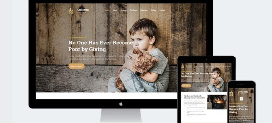 Charity Websites Templates