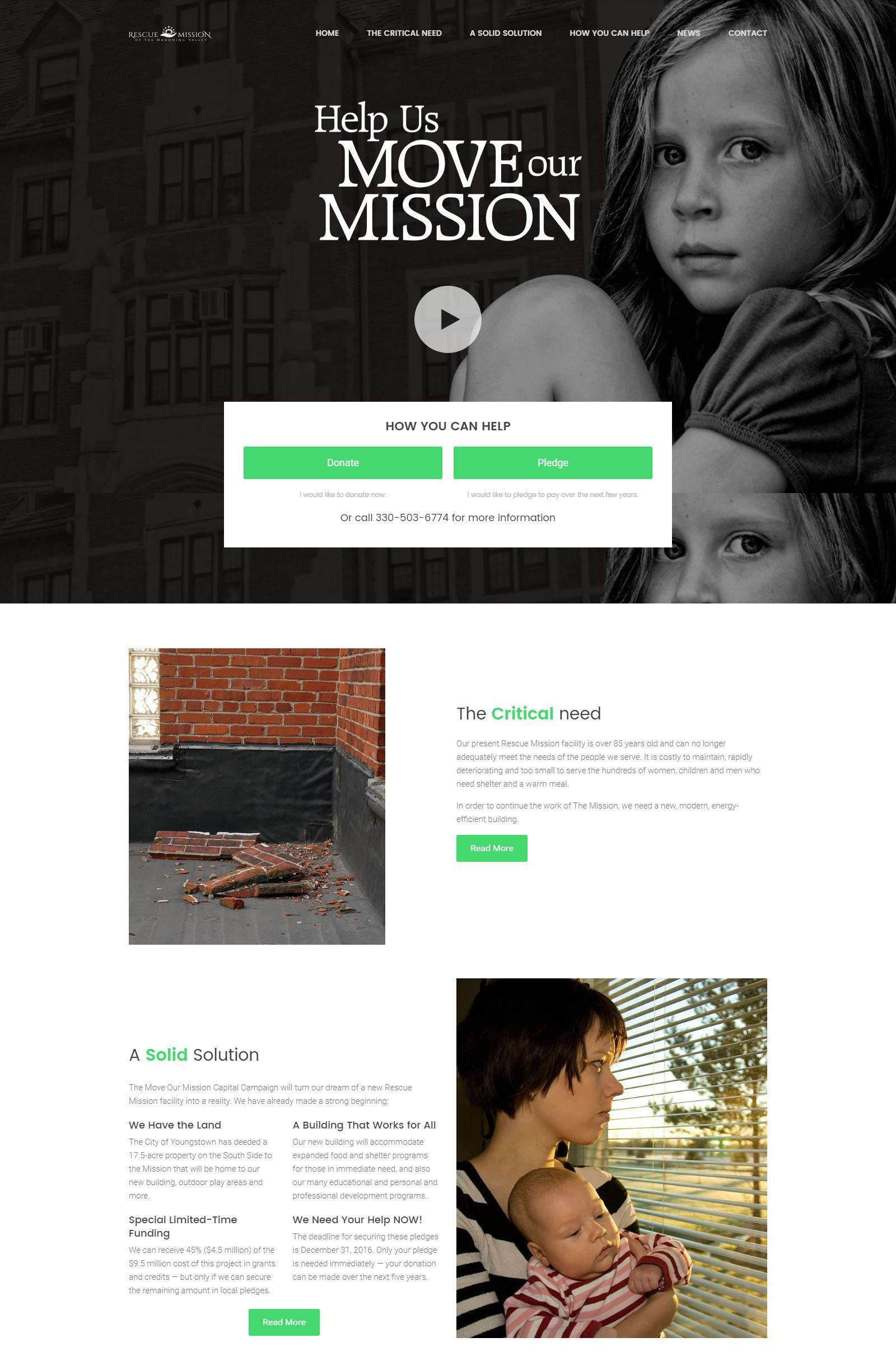 Charity Websites WordPress Templates