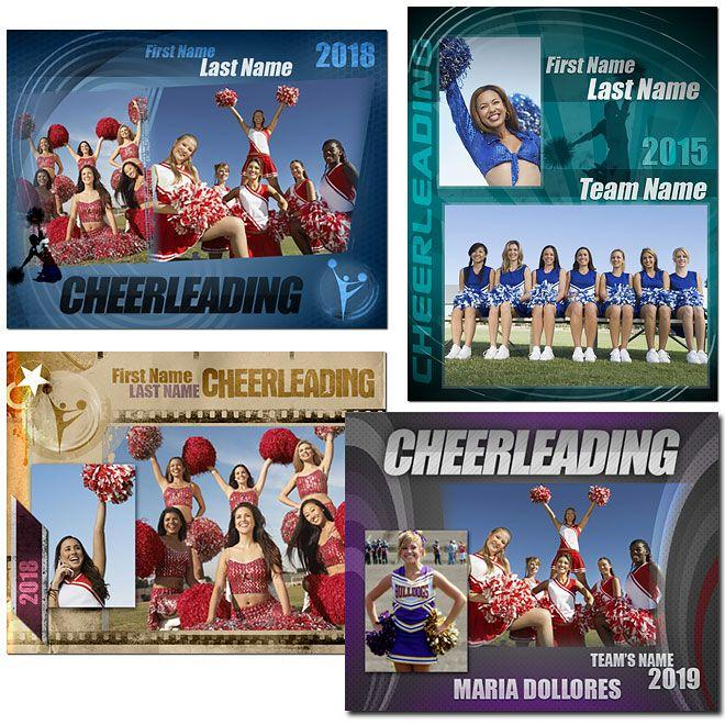 Cheerleader Memory Mate Templates