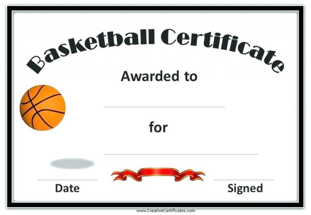 Cheerleading Participation Certificates Templates