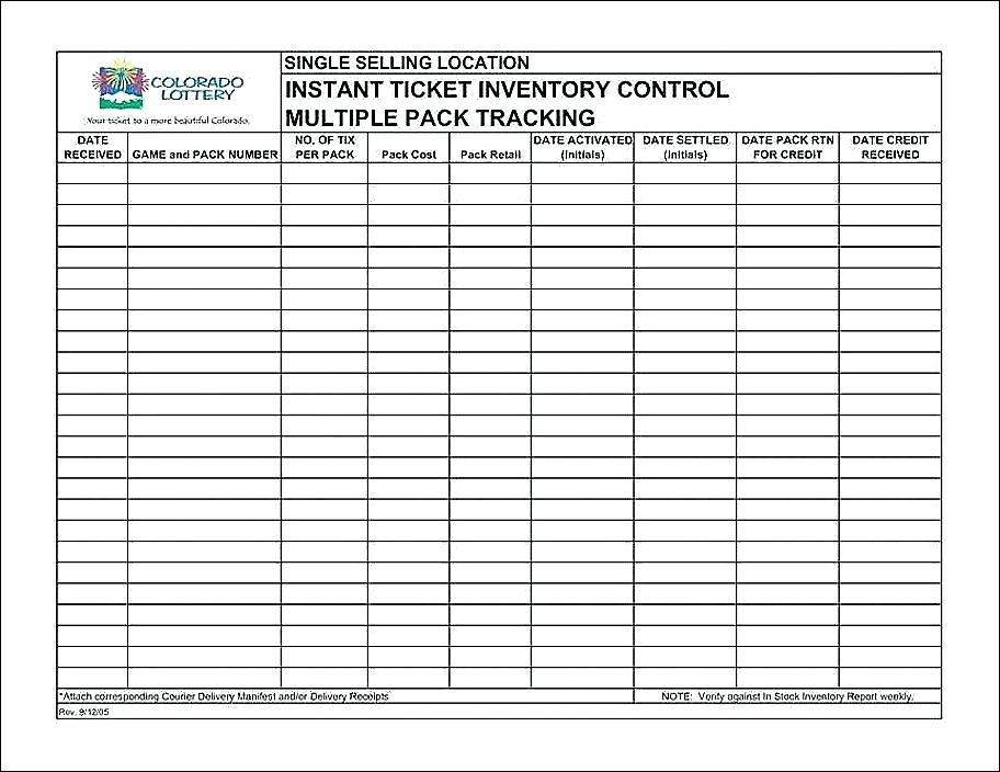 Chemical Inventory Template Nz