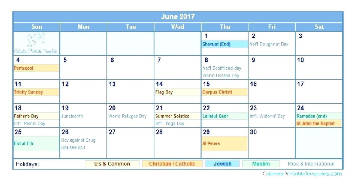 Child Custody Calendar Template