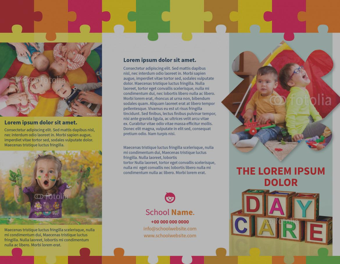 Child Daycare Flyer Templates
