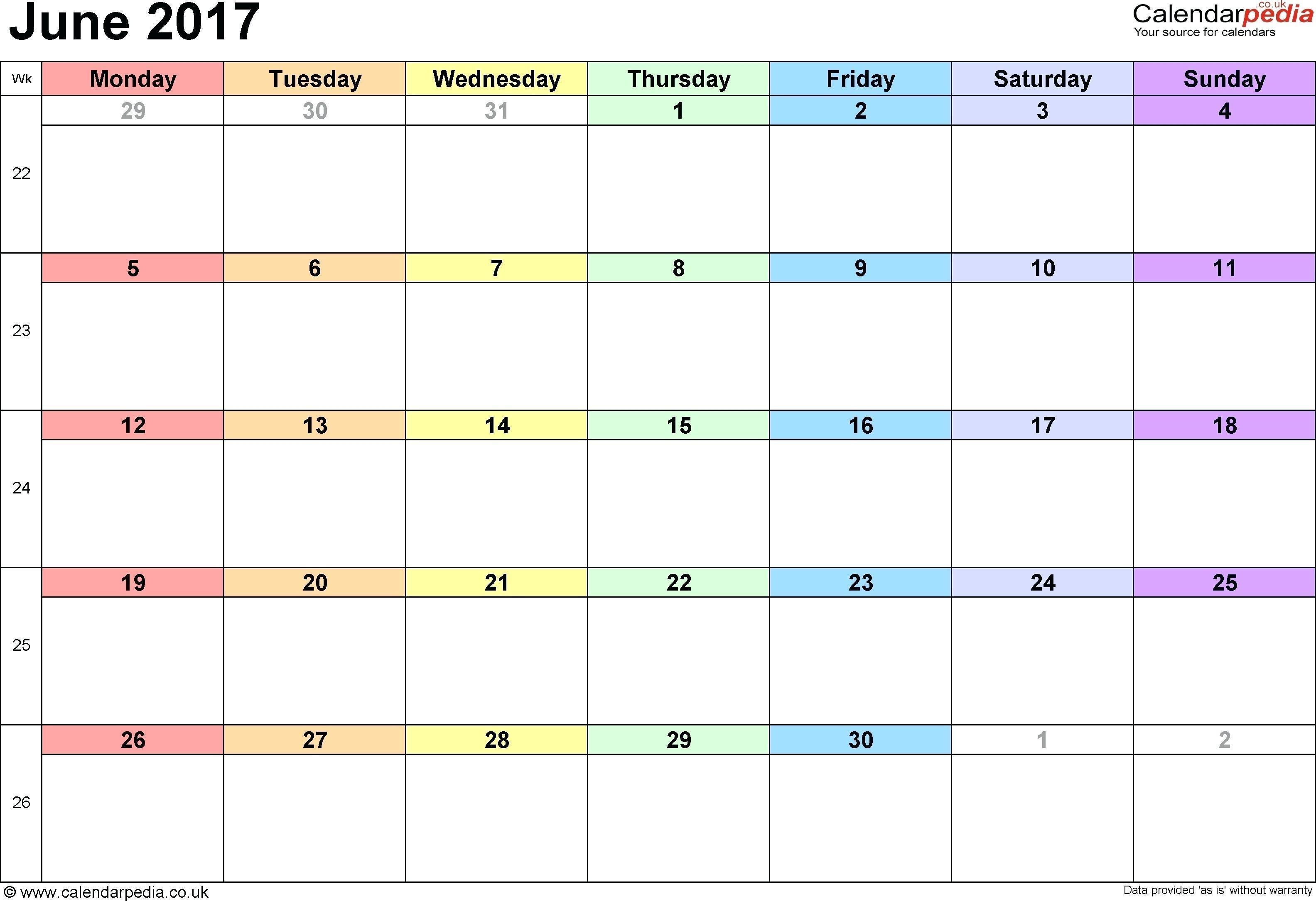 Child Visitation Calendar Template