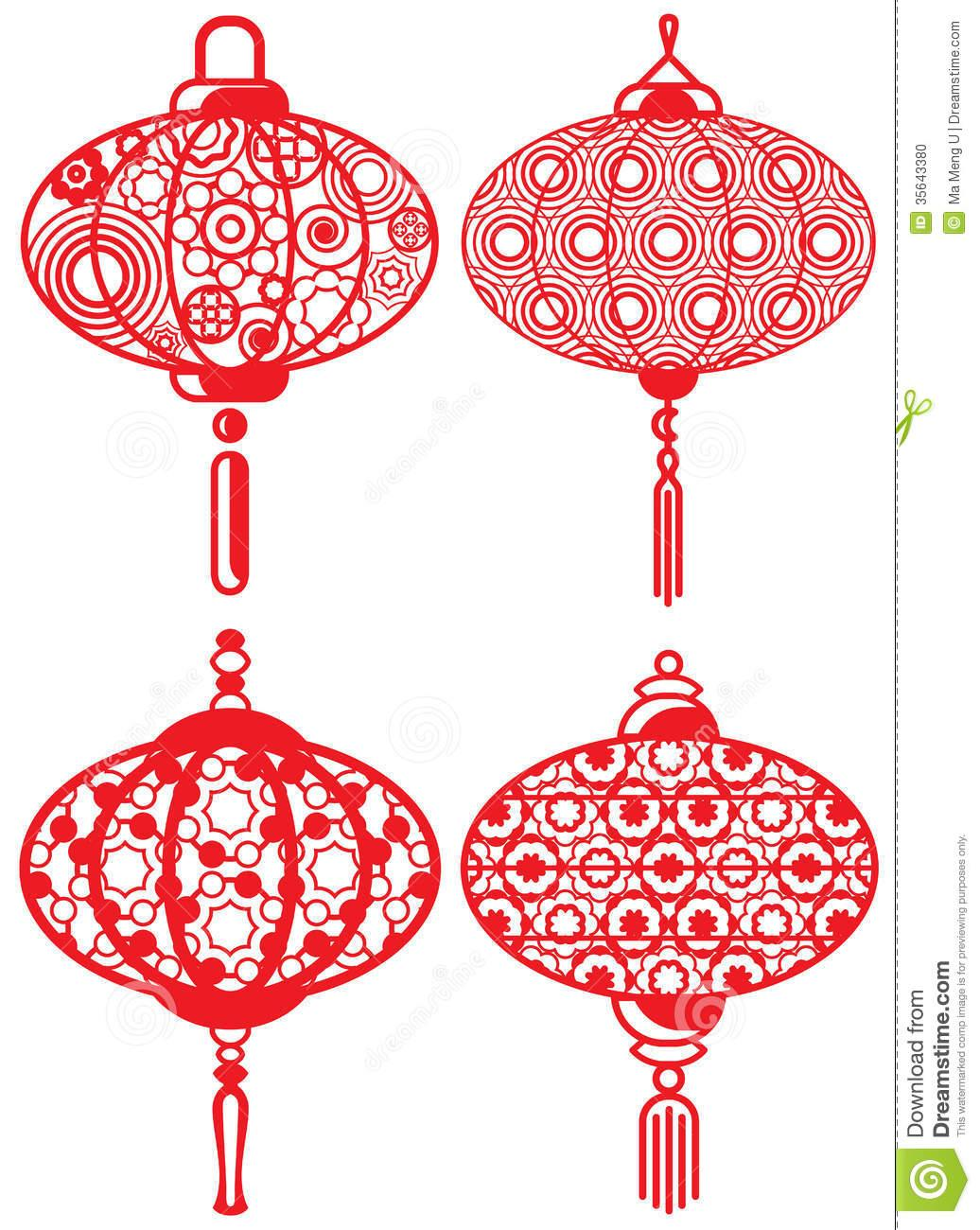 Chinese Lanterns Patterns