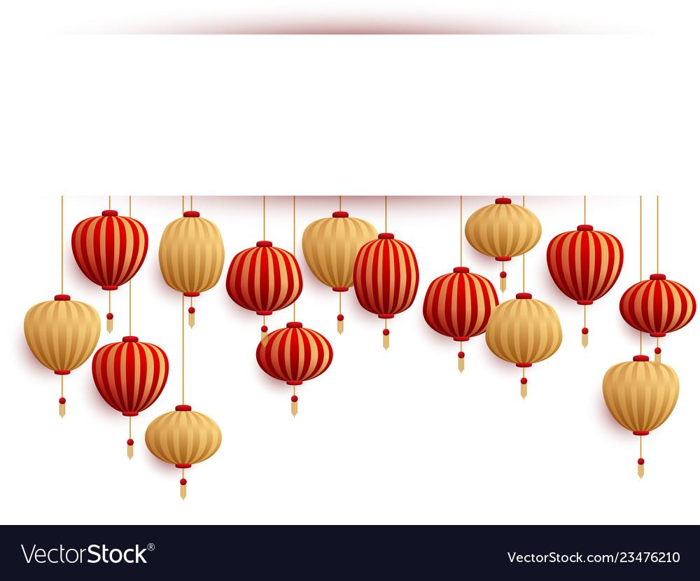 Chinese Lanterns Template