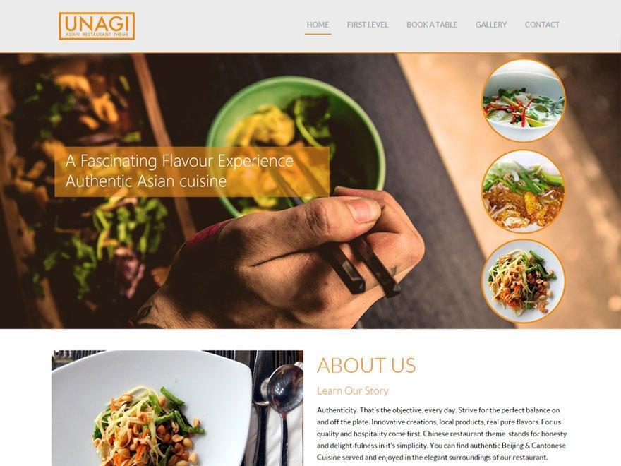 Chinese Restaurant WordPress Template