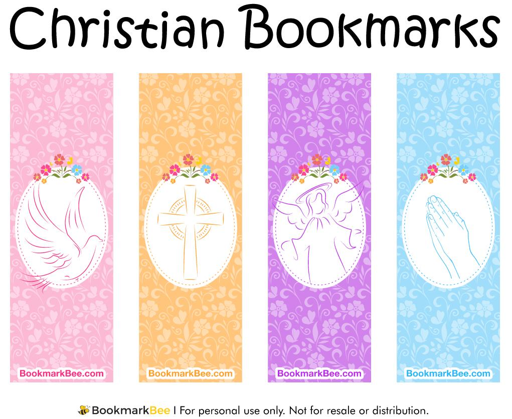 Christian Bookmark Templates