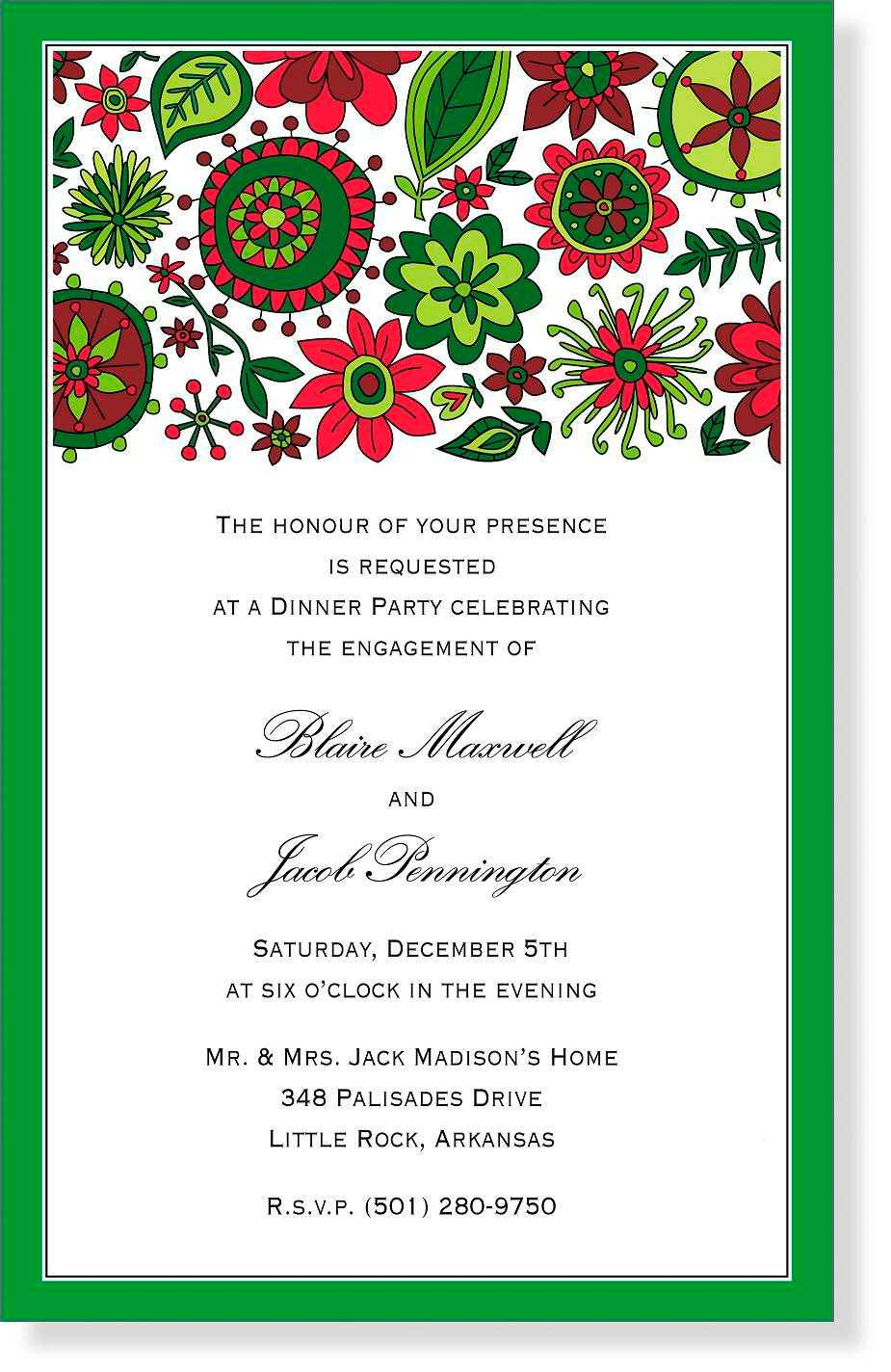 Christian Christmas Invitation Templates