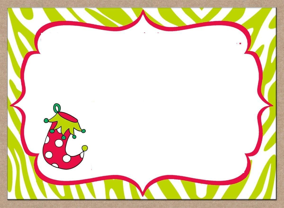 Christmas Dinner Party Invitation Templates