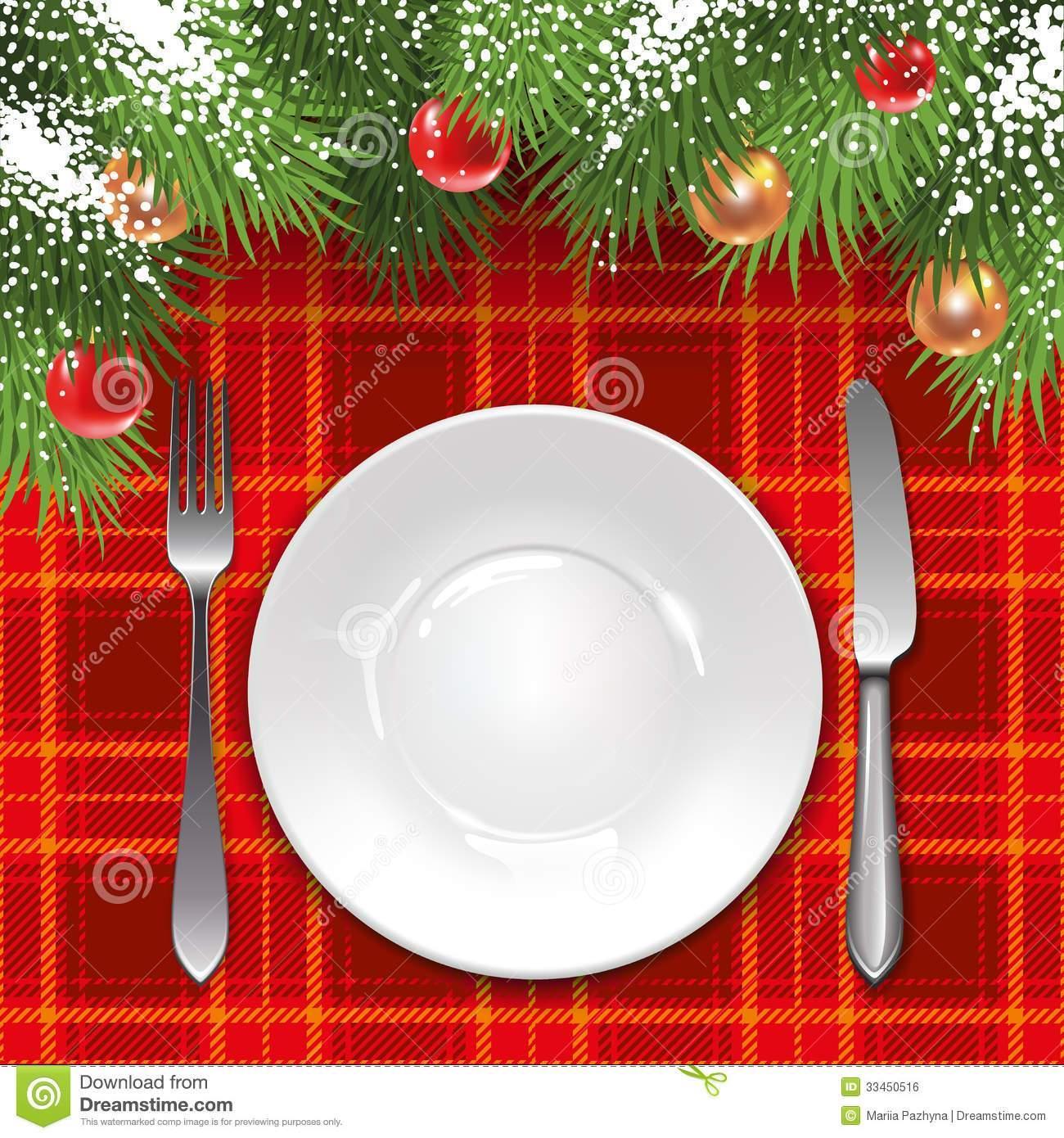 Christmas Lunch Menu Template