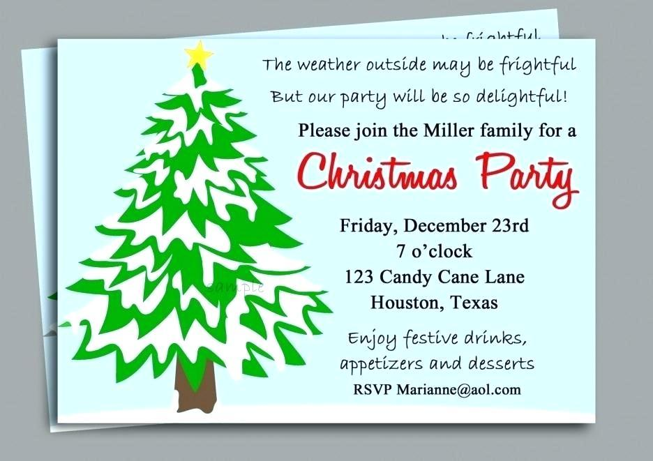Christmas Party Invitation Templates Funny
