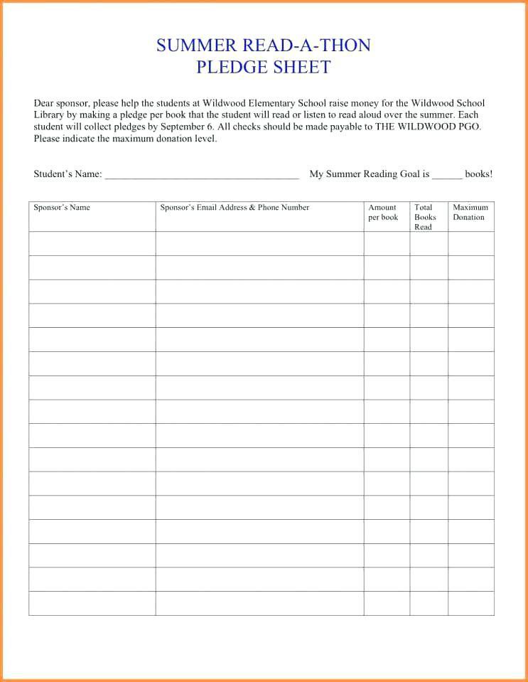 Church Donation Spreadsheet Template