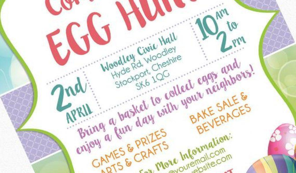 Church Easter Invitation Templates