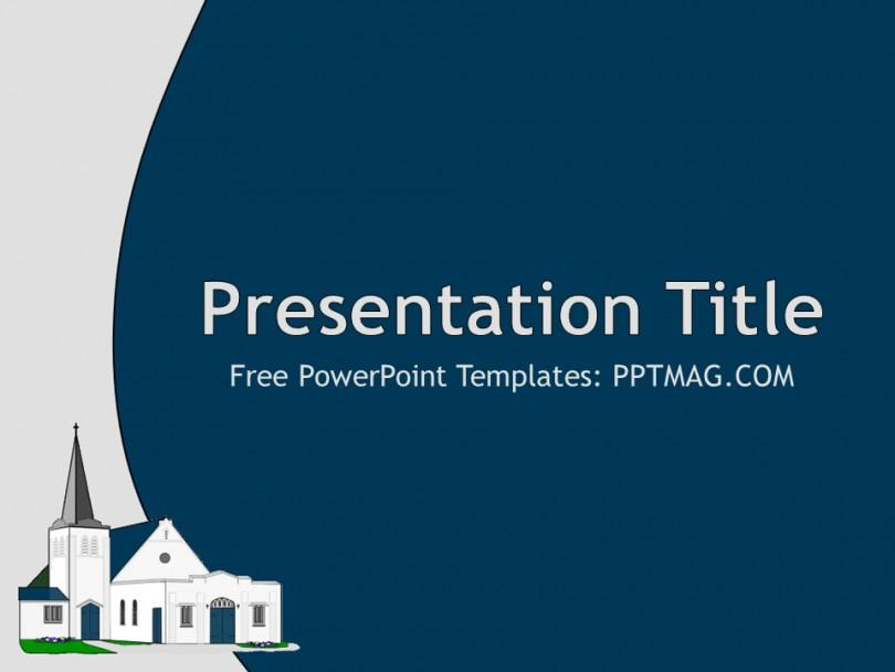 Church Sermon Powerpoint Templates