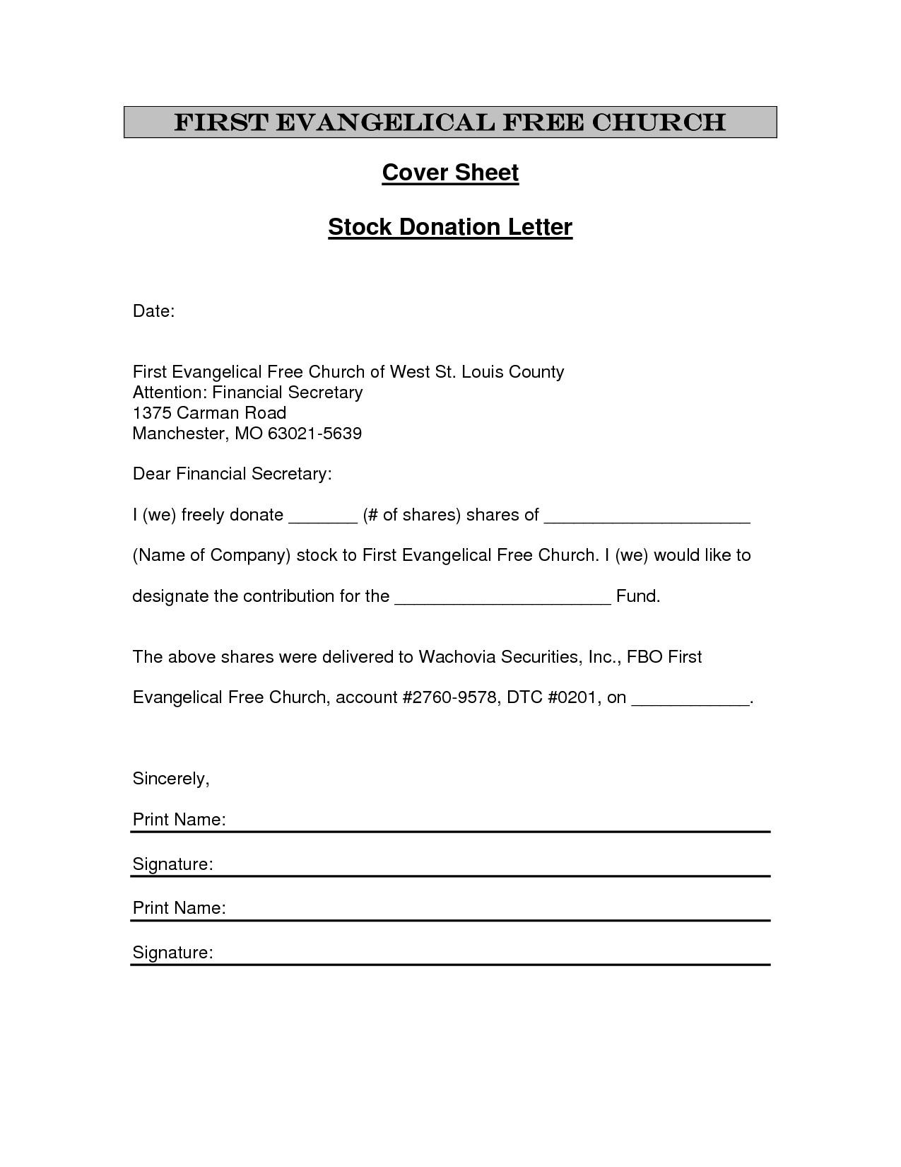 Church Tax Donation Receipt Template