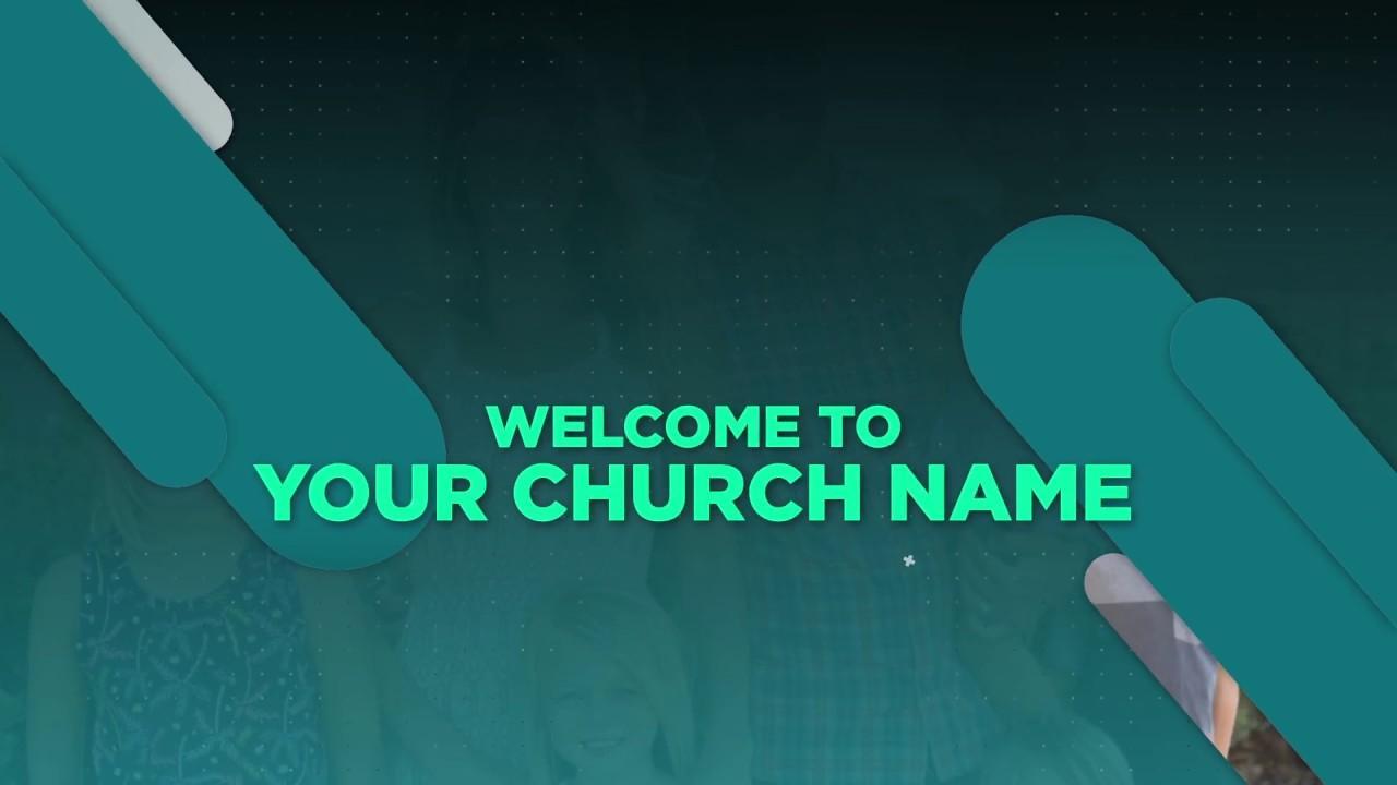 Church Video Announcements Template