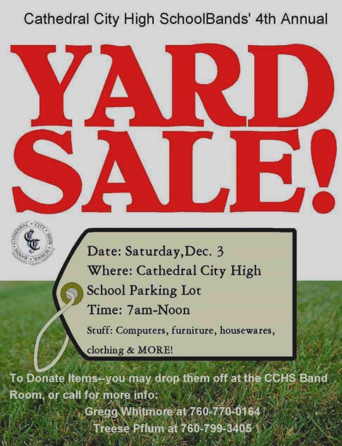 Church Yard Sale Flyer Template