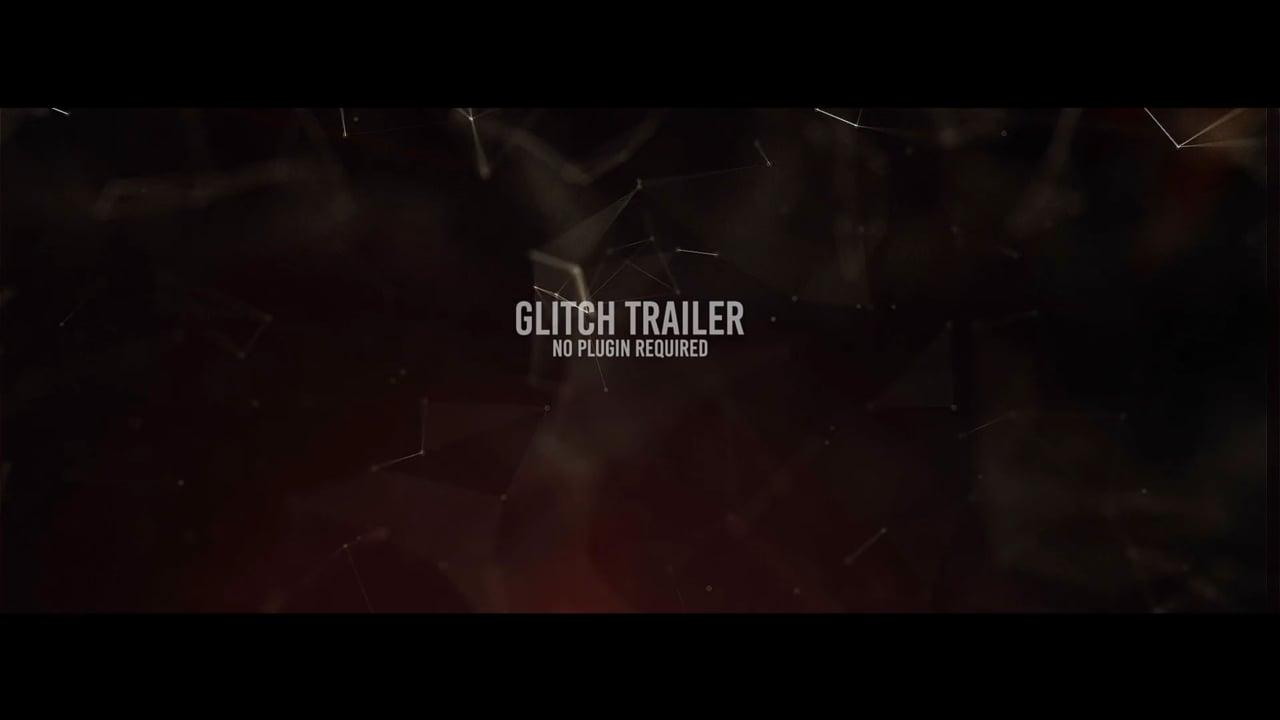 Cinematic Glitch Trailer After Effects Templates