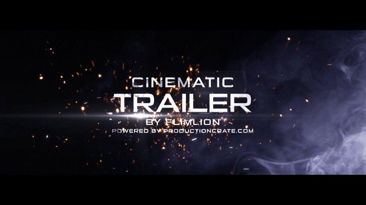 Cinematic Title 55349 After Effects Templates