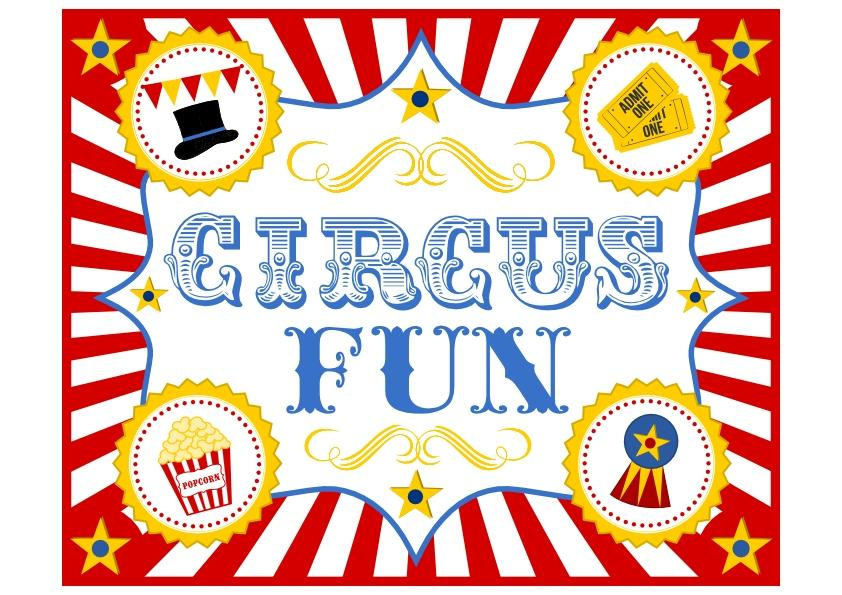 Circus Ticket Template Free Download